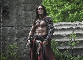 Jason Momoa in Conan the Barbarian