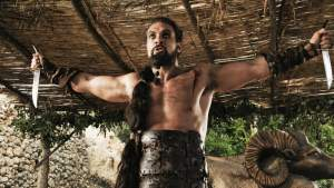 khal drogo game of thrones arms