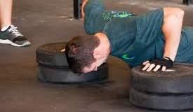 plate push ups
