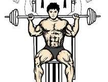 military or shoulder press exercise for bulked up shoulders