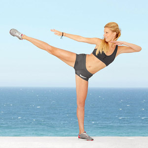 Heather Morris Martial Arts Workout