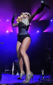 lady gaga legs