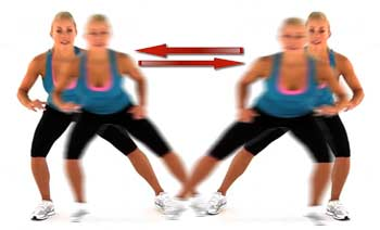 Shuffle Exercise: Good Lateral Warm Up For Your Legs