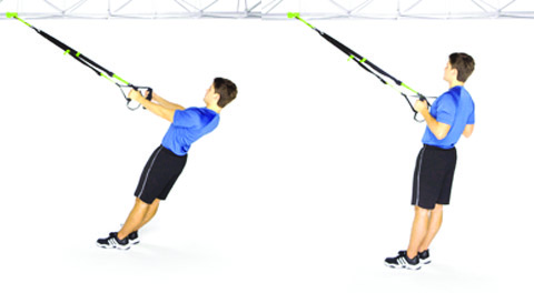TRX Row Exercise: Strengthen Your Back | Pop Workouts