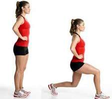 Walking Lunge Exercise