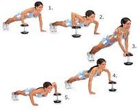 Walkover Pushup Exercise