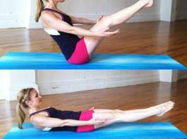 low boat pose yoga