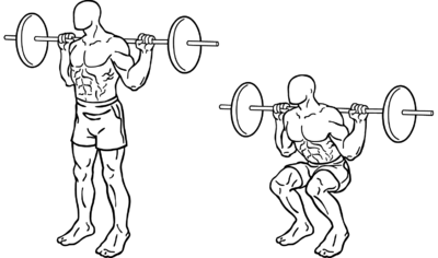 Squats Exercise Popular Workout