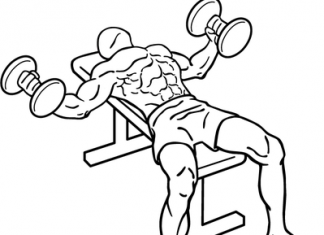 dumbbell flys exercise routine