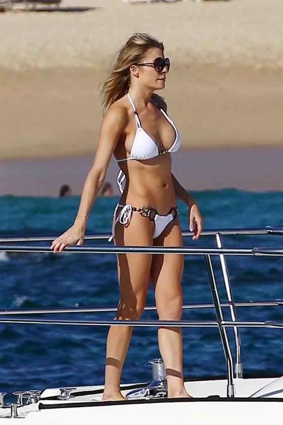 leann rimes bikini workout