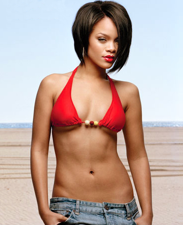 rihanna workout body