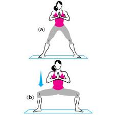 temple pose exercise
