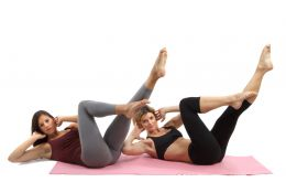 Pilates Criss Cross Exercise