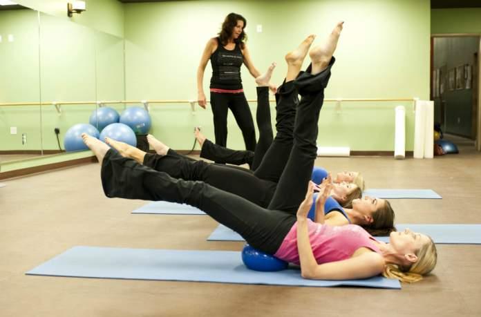 Scissor Kicks Pilates