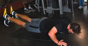 Suspended Incline Press Exercise