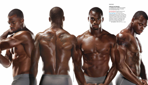 adrian peterson body