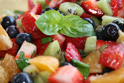 protein packed fruit salad recipe