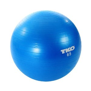stability ball blue