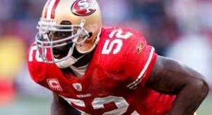 Patrick Willis Football Linebacker