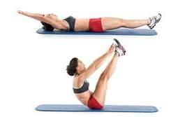V-Ups exercise