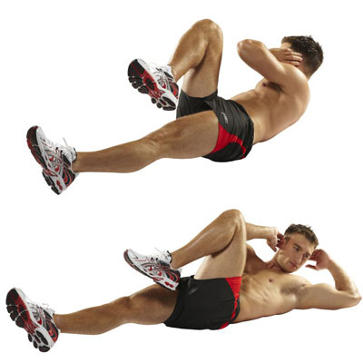 bicycle crunches exercise2