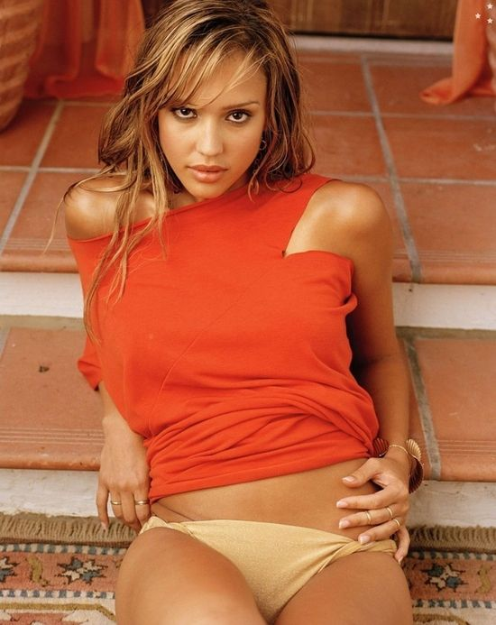 jessica alba body weight