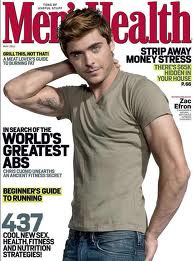 zac efron mens health