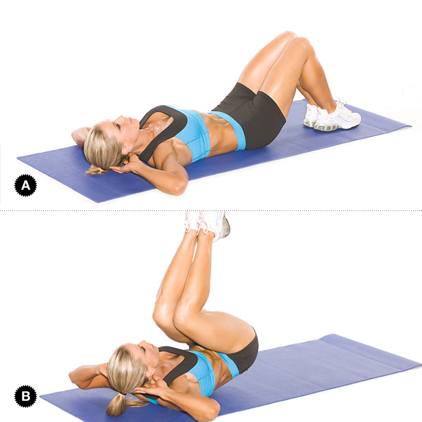 Reverse Crunches Working Your Lower Abs Popworkouts