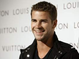 Liam Hemsworth Workout Smile