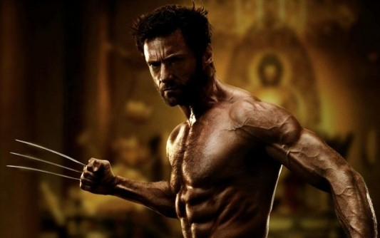hugh jackman wolverine workout body
