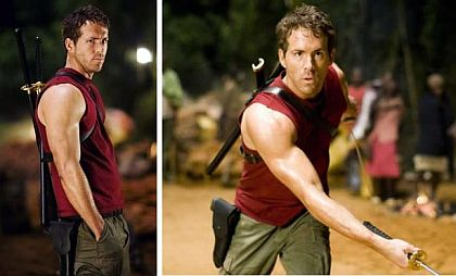 ryan reynolds exercise shoulders and triceps
