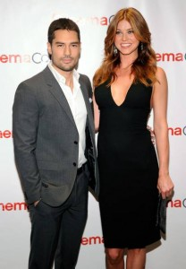 Adrianne Palicki boyfriend DJ Cotrona 208x300 Adrianne Palicki Workout & Diet: Shaping Up For Wonder Woman & G.I. Joe
