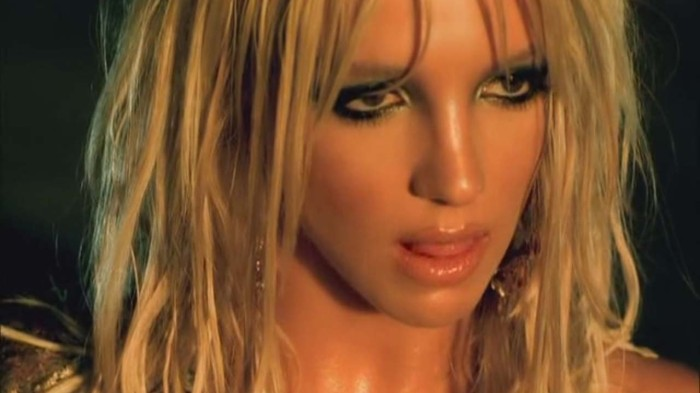 britney spears face