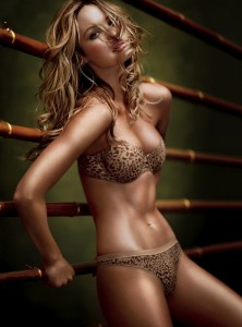 candice swanepoel boxing