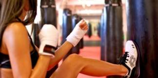 kickboxing workout video