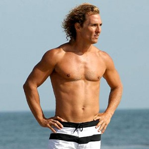 Matthew McConaughey workout abs 300x300