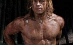 brad pitt workout abs