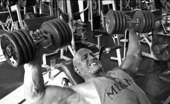 The Rock Workout Diet How He Gets Pumped Pop Workouts