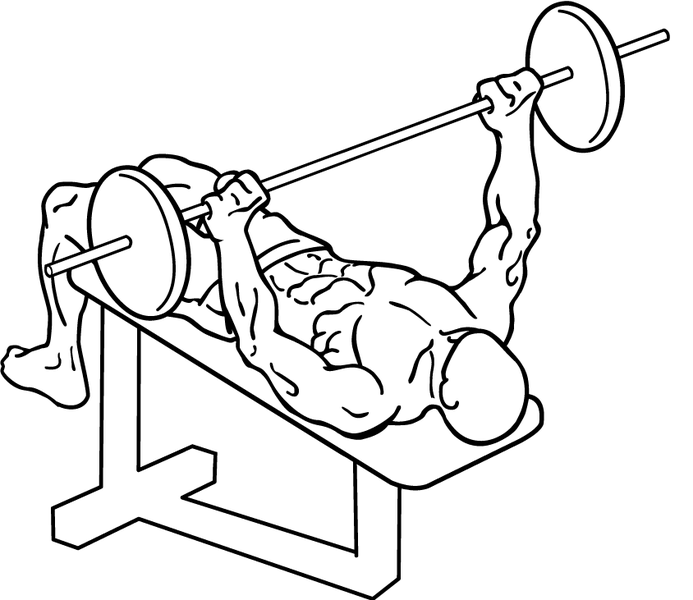 Decline Bench Press How To Work Your Lower Chest Pop Workouts