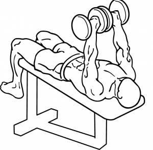 dumbbell-decline-bench-press
