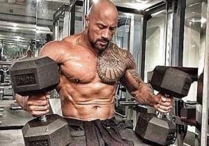 The Rock Hercules Workout Chest Dumbbells 300x210