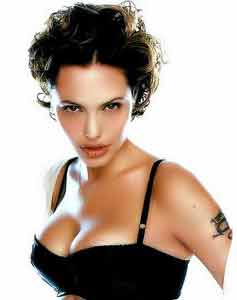 angelina jolie workout chest shoulders arms