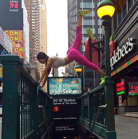 Jen Selter #Seltering in New York