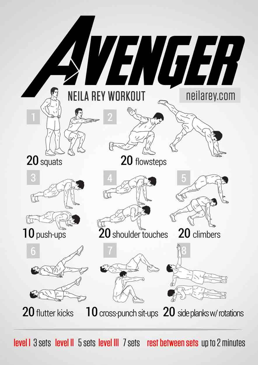 avenger-workout-bodyweight-routien