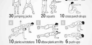 Iron Man Workout Bodyweight Routine