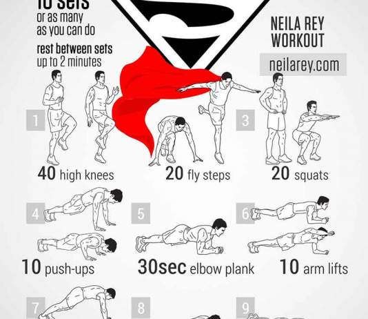 superman-bodyweight-workout