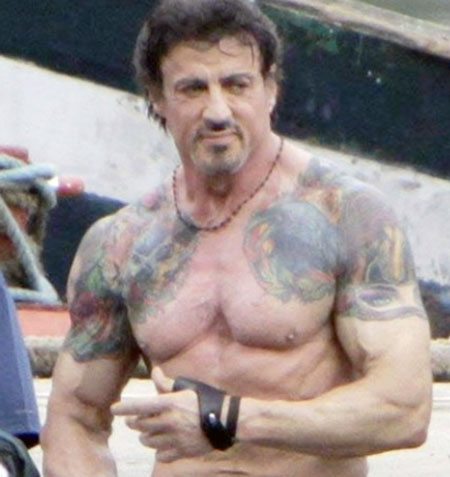 Sylvester-Stallone-Workout-For-Expendables-Routine