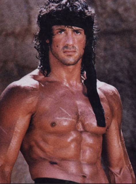 Sylvester stallone body think