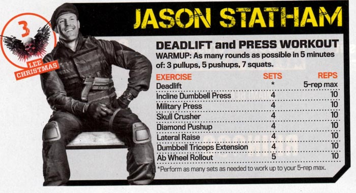 Pics Photos - Jason Statham Workout And Diet