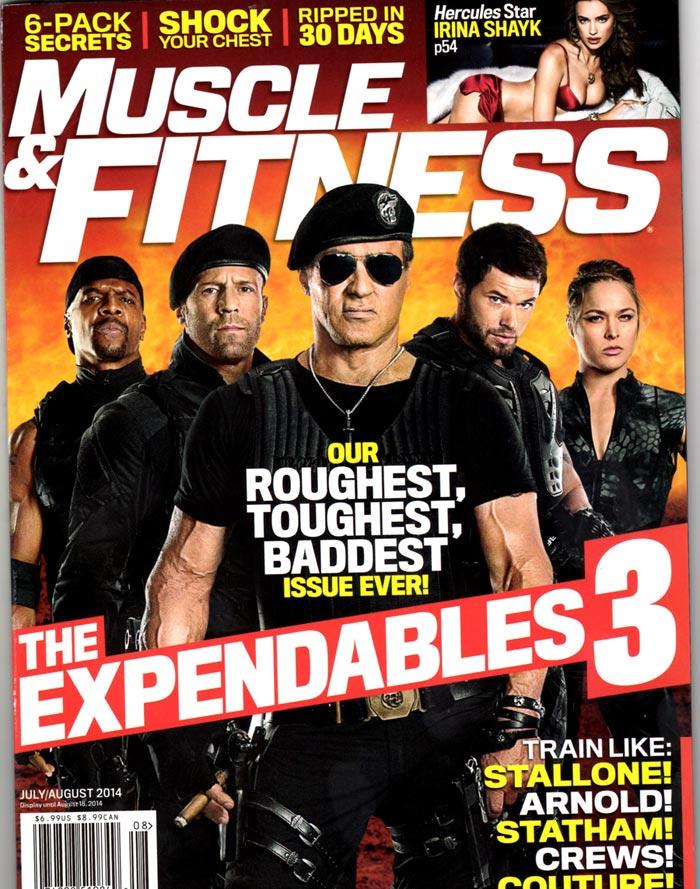 Sylvester Stallone Expendables Workout